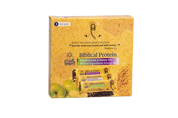 Locust, Honey Energy Bars Mix (3) - box
