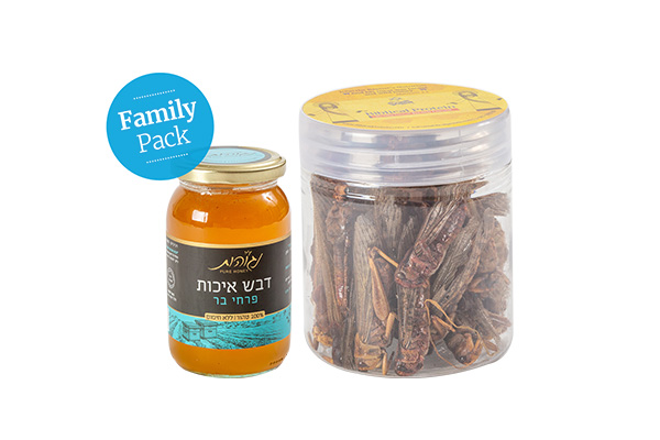 Family package locust & honey – Buy 25 pay for 20