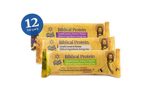 Locust, Honey Energy Bars Mix (Dozen)