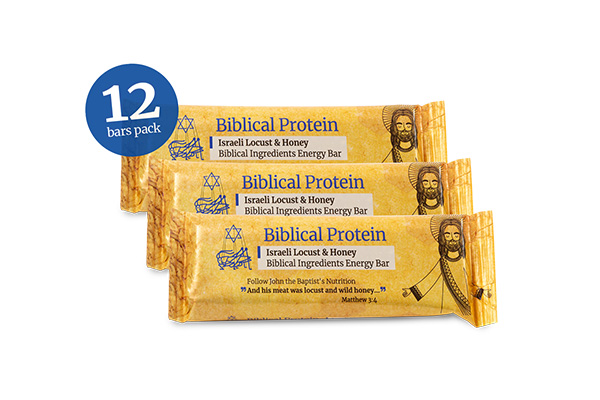 Locust, Honey Plain Energy Bars (Dozen)