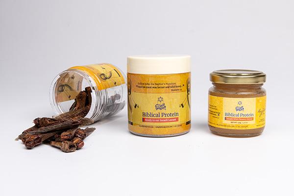 Ready-to-Eat Locust & Honey