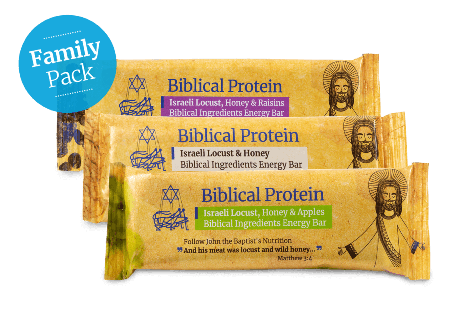 Family package energy bars – Buy 300 pay for 240
